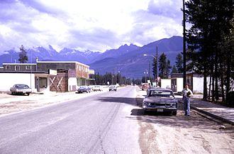 Valemount - Valemount in 1974