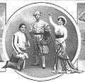 Vallejo, Carrión y Amalia Isaura, en «La corte del porvenir».jpg