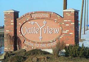 Valleyview, Alberta - Image: Valleyview sign