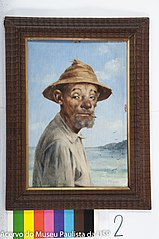 Homem com Chapéu e Cigarro de Palha