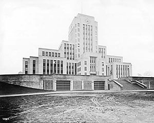 Vancouver City Hall - City Hall a month before opening