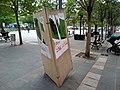 Vandalised VOX electoral posters in Irun, Spain (1).jpg