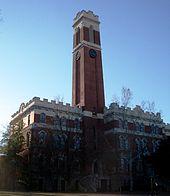 Kirkland Hall at Vanderbilt University in Nashville