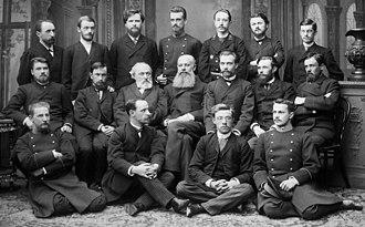 Vasily Dokuchaev - Vasily Dokuchaev and Alexander Sovetov with students