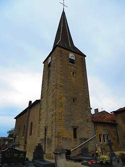 Vaudoncourt (Meuse) L'église Saint-Nicolas.JPG
