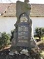 Velký Bor (Strunkovice nad Blanicí), pomník II.jpg