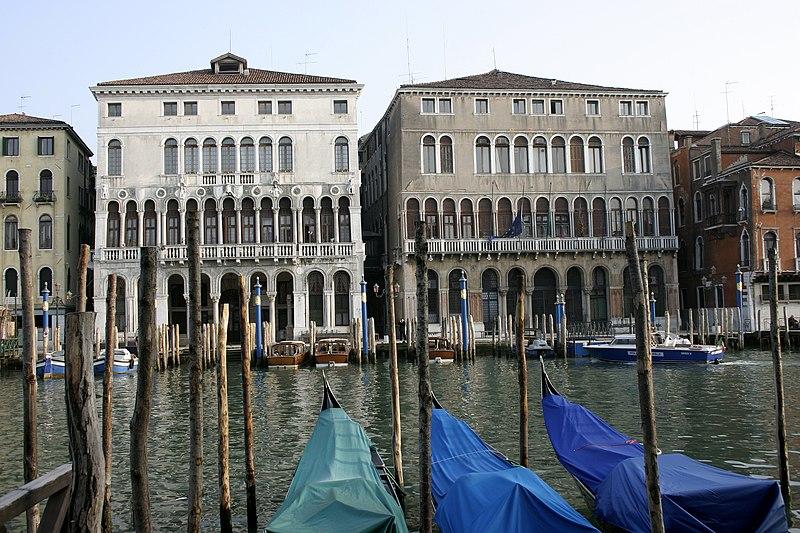 Dosya:Venice - Palazzo Loredan & Palazzo Farsetti.jpg
