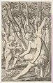 Venus breaking Cupid's bow over her knee with Cupid stretching both hands toward it, from the series 'Sport of Love' (Scherzi d'amore) MET DP833519.jpg