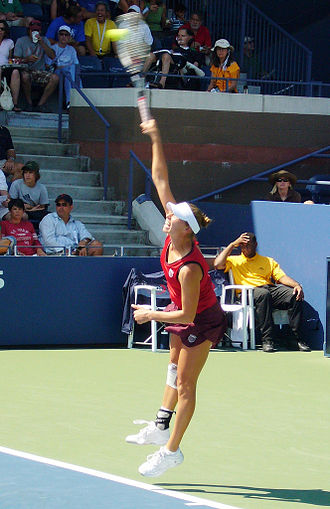 Vera Zvonareva - Vera Zvonareva at the 2009 US Open.