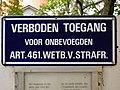Verboden toegang Art 461 WvS.jpg