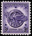 Veterans of World War II 3c 1946 issue U.S. stamp.jpg
