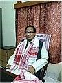 Vice Chancellor of Rabindranath Tagore University.jpg