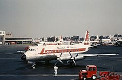 Vickers Viscount 745D, Capital Airlines JP7167210.jpg