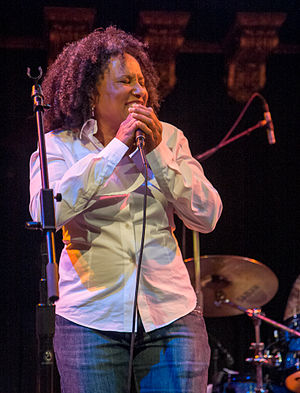 Vicki Randle - Image: Vicki Randle at Great American Music Hall