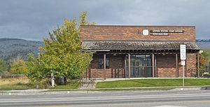 Victor, Idaho - Post Office at Victor, Idaho, United States