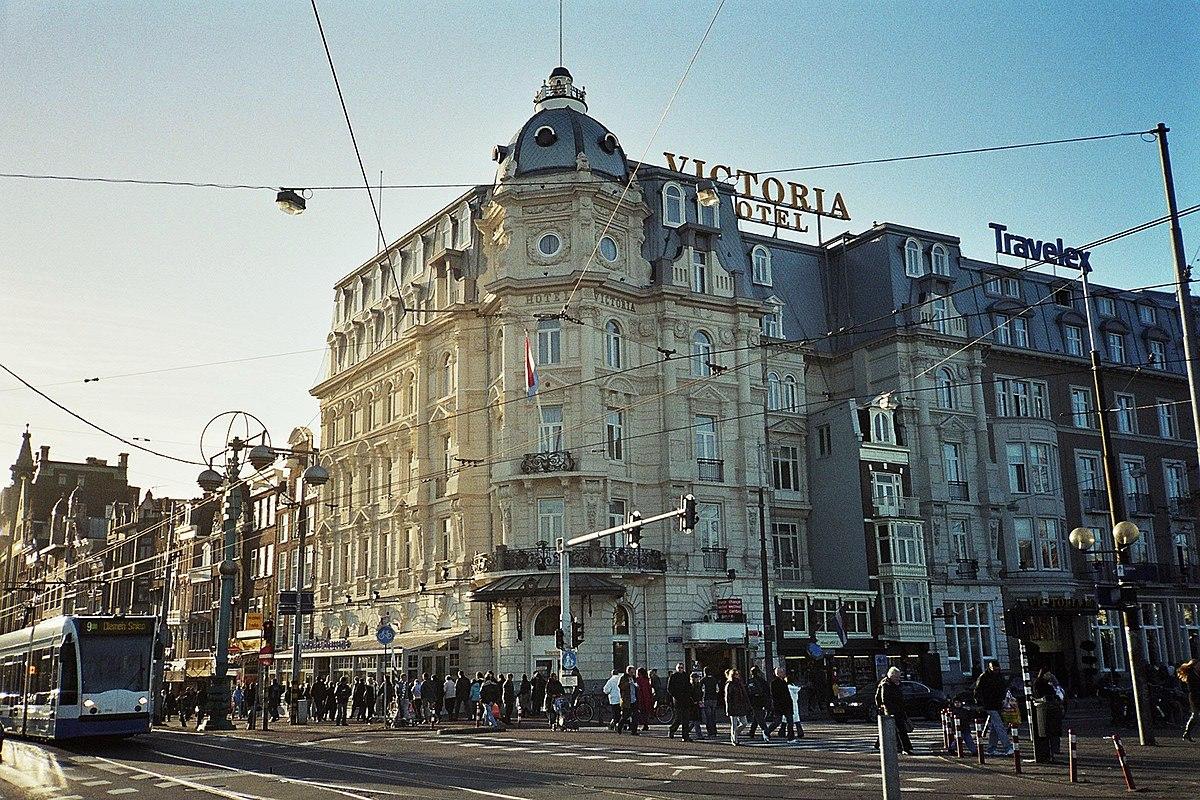 Hotel Amsterdam  Bett Zimmer