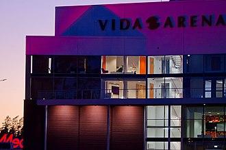 Vida Arena - Image: Vida Arena skymning 6497
