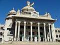 Vidhana Soudha entrance, 2014.jpg