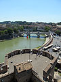 View from Castel Sant'Angelo 4 (15278996029).jpg