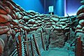 View inside the life sized bunker diorama (24498290119).jpg