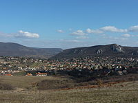 View of Csobánka from the Csobánka Saddle 02.JPG