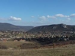 View of Csobánka from the Csobánka Saddle 02.JPG