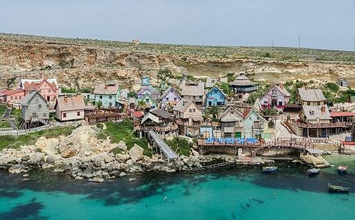 View of Popeye Village, Malta 20110424 1