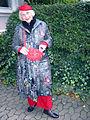 Viktoria Krüger, Dipl.-Ing. rer. hort. und lebendes Kunstwerk, Initiatorin Gartenregion Hannover, auf der Ausstellung Wintergärten V - H2O, Güntherstraße Waldhausen.jpg