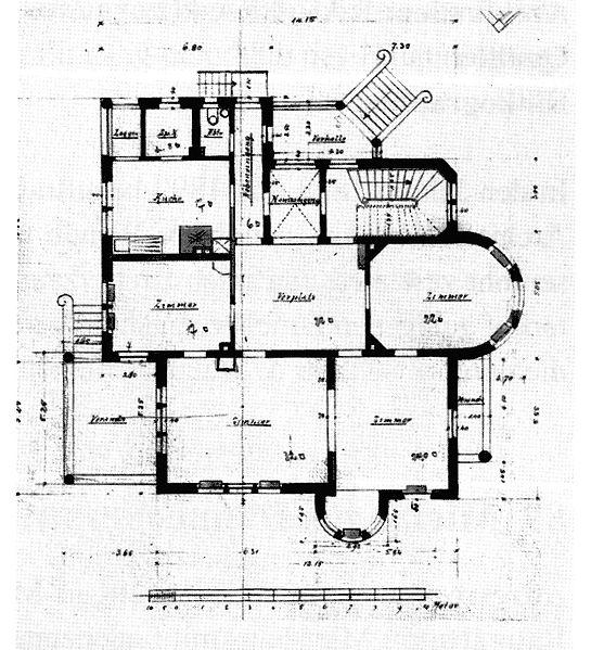 file villa clausnitzer gerokstr 1 stuttgart architekten. Black Bedroom Furniture Sets. Home Design Ideas