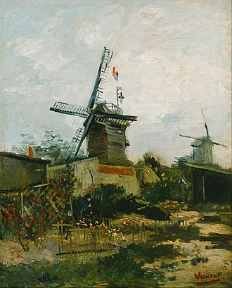 Moulin de la Galette - Image: Vincent van Gogh Windmills on Montmartre Google Art Project