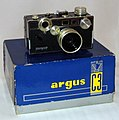 Vintage Argus Standard C3 Film Camera, Made In USA, aka The Brick, Circa 1958 - 1966 (13491778574).jpg