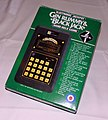 Vintage Entex Gin Rummy & Black Jack Electronic Handheld Game, No. 6008 Made in Japan, Copyright 1980 (9286536985).jpg