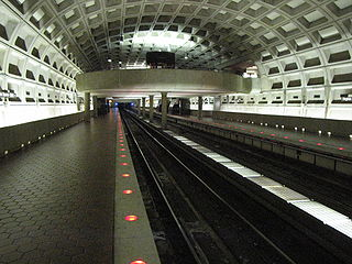Virginia Sq-GMU station showing mezzanine.jpg