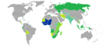 Visa requirements for Cape Verdean citizens.png