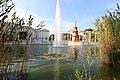 Vista de el Parque 9 d'octubre es un área verde que se encuentra en la ciudad española de Petrel, Alicante.en septiembre de 2020.jpg