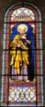 Vitrail de Saint Pierre, Abbaye de Méobecq, France.png