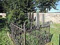 Vlachovo Březí, židovský hřbitov, náhrobky, 10.jpg