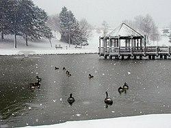 Vlasis Park in Ballwin, Missouri, March 2000