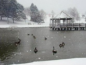 Ballwin, Missouri - Vlasis Park in Ballwin, Missouri, March 2000