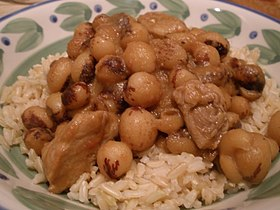 Rice with laoka