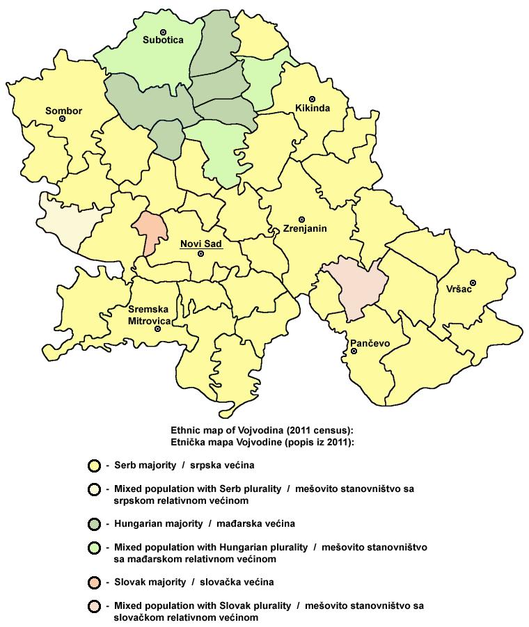 Vojvodina ethnic2011