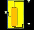 Volumen de control alrededor de un separador.png