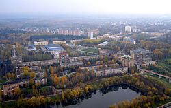 Skyline of Voskresensk