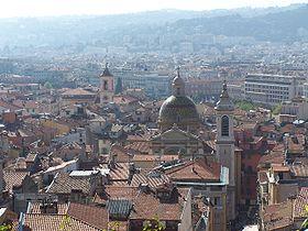 Vue d'une partie du Vieux-Nice