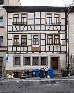 Innerer Graben in Würzburg