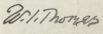 W. I. Thomas - Image: W. I. Thomas signature