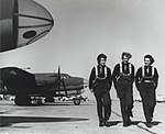 WASPs on runway, Laredo Texas, 1944.JPG
