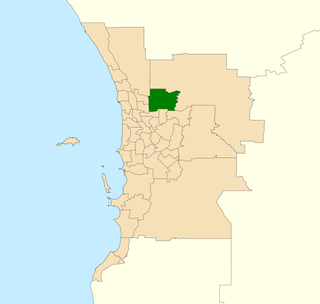 Electoral district of West Swan State electoral district of Perth, Western Australia