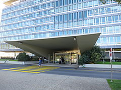WHO HQ main entrance, Geneva.JPG