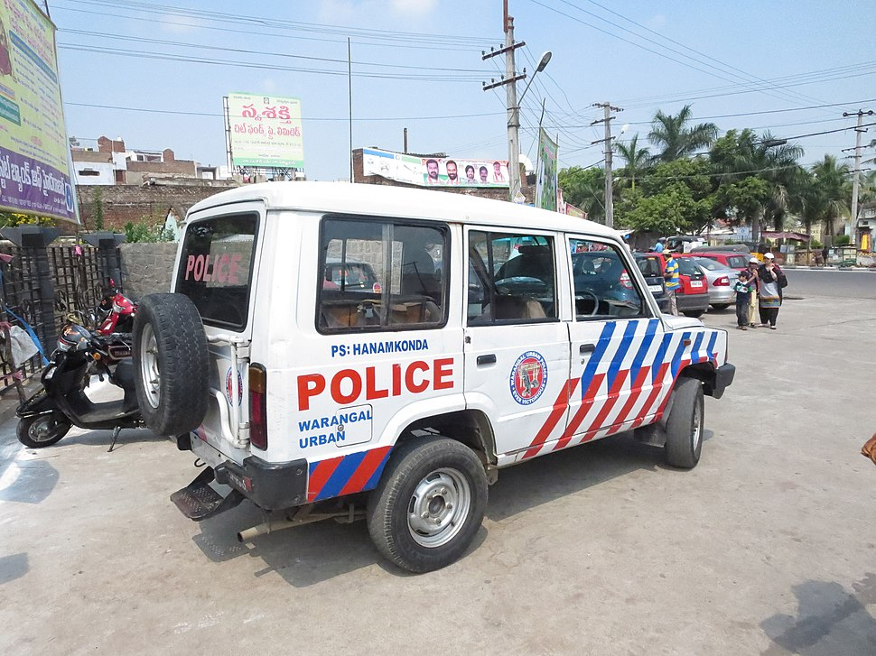 WL police vehicle